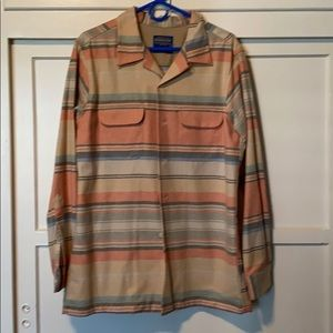 Pendleton Men's Fitted Board Shirt Limited Print